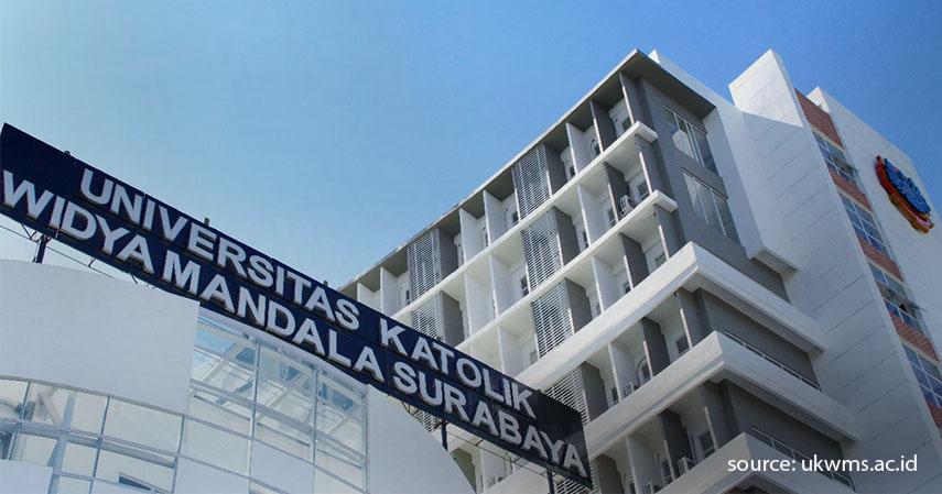 Universitas Katolik Widya Mandala - 5 Universitas Swasta Terbaik di Surabaya dan Biaya Masuknya 2020