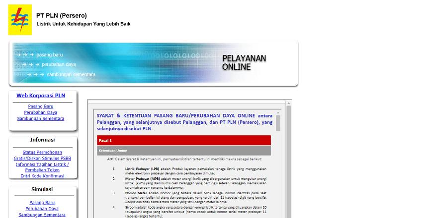 Via Laman PLN Online - Cara Membayar Listrik dan Cek Tagihan Listrik dengan Mudah