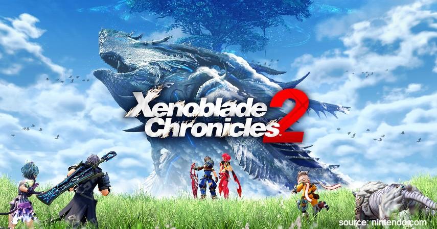 Xenoblade Chronicles - 7 Game Nintendo Wii Terbaik 2020 Paling Seru
