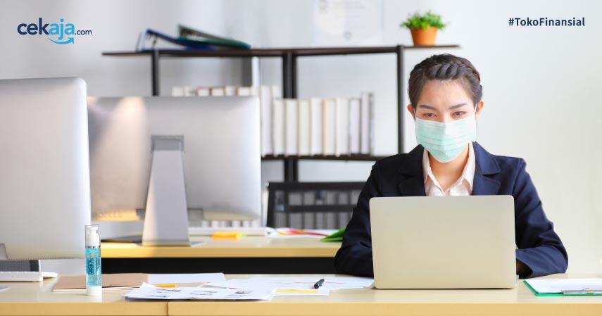 tips menjaga kesehatan di kantor saat new normal