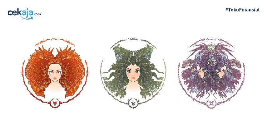 Ramalan Keuangan Zodiak Aries, Taurus, dan Gemini di Bulan Juni 2020