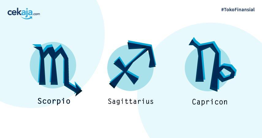 Ramalan Keuangan Zodiak Scorpio, Sagitarius, dan Capricorn Bulan Juni 2020