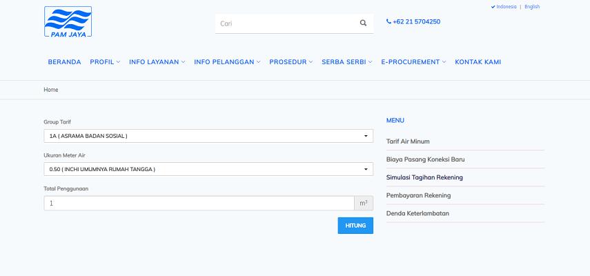 Cara Cek Tagihan PDAM Jakarta - Cara Cek Tagihan dan Pembayaran Online PDAM Jakarta dan Sekitarnya