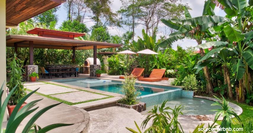 Casa Cielo Volcano - 10 Villa Terindah di Dunia ini Cocok Buat Liburan bareng Keluarga