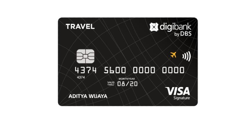 Digibank Visa Travel Signature - Pilihan Kartu Kredit Terbaik untuk Mengumpulkan GarudaMiles