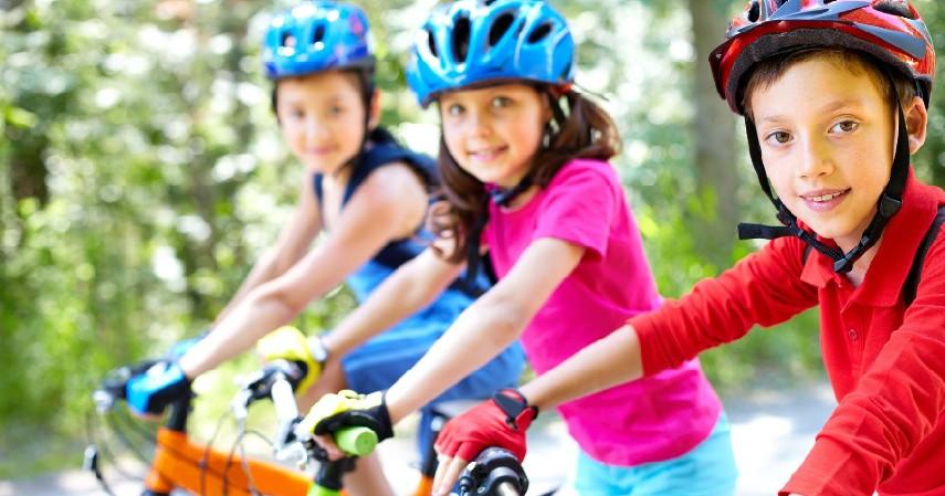 Gunakan perlengkapan sesuai dengan medan jalan - Ini Tips Aman Bersepeda di Jalan Raya