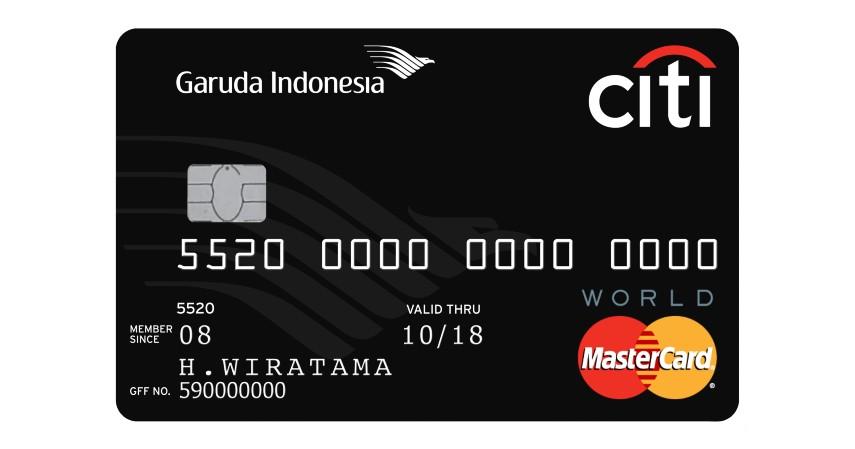 Garuda Indonesia Citi Card - Pilihan Kartu Kredit Terbaik untuk Mengumpulkan GarudaMiles