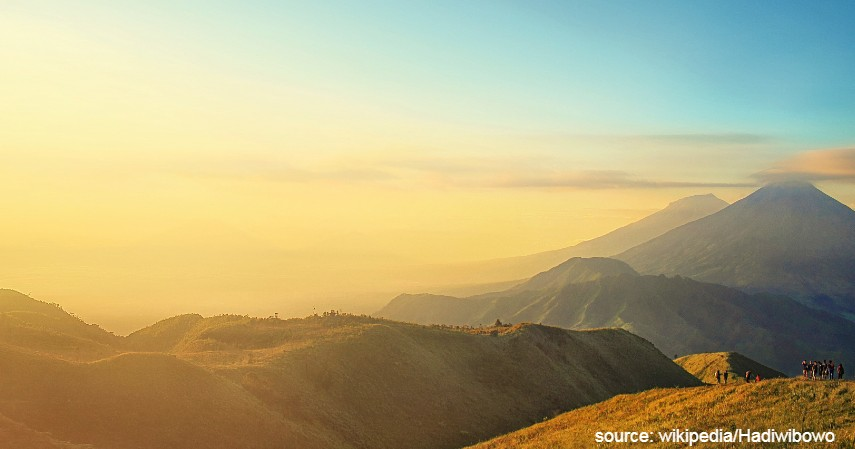 Gunung Prau - Deretan Wisata Pegunungan Dieng yang Dikenal Sebagai Negeri di Atas Awan