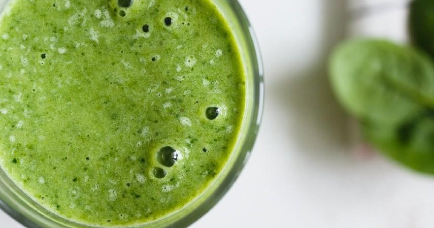 Jus Organik Kubis dan Bayam - Jus Organik untuk Penderita Kanker yang Kaya Antioksidan