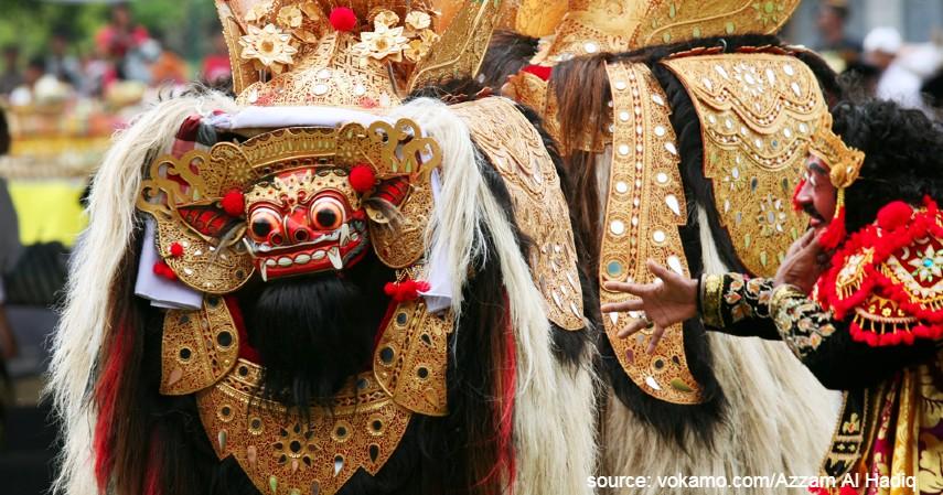 Tari Barong - 7 Kesenian Tradisional Khas Bali yang Belum Banyak Orang Tahu