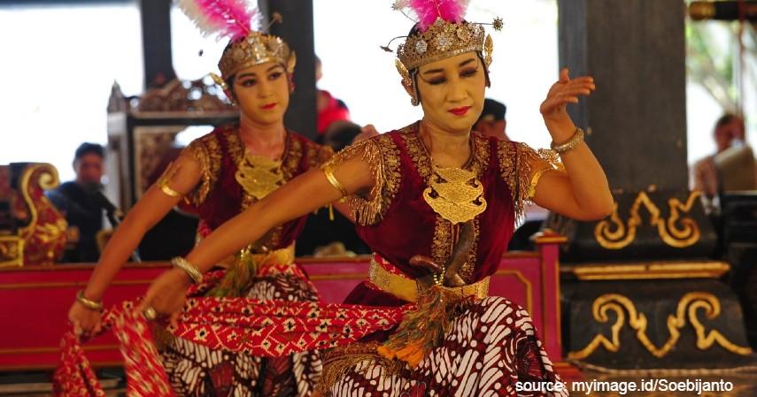 Tari Serimpi - 18 Kesenian Tradisional Khas Jawa Tengah Terlengkap Sudah Tahu