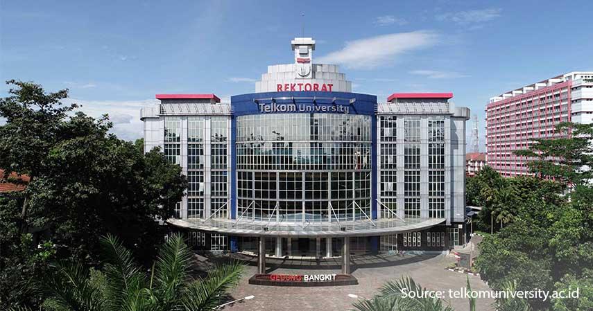 Telkom University - 5 Universitas Swasta Terbaik di Bandung dan Biaya Masuknya