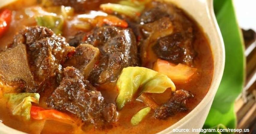 Tongseng - Ini Dia Beberapa Makanan Khas Idul Adha di Indonesia Paling Favorit