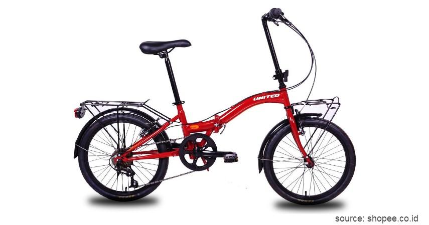 United Stylo - Rekomendasi Sepeda Lipat Murah 1 - 2 Jutaan Sehat Gak Perlu Mahal