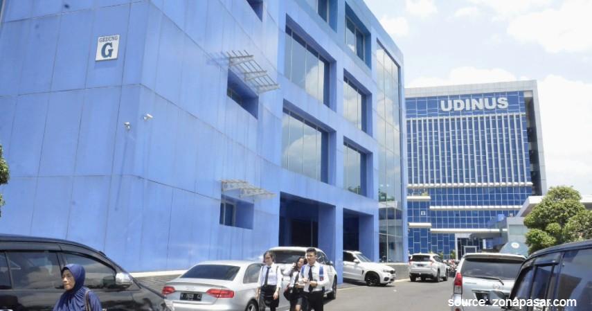 Universitas Dian Nuswantoro UDINUS - Universitas Swasta Terbaik di Semarang dan Biaya Masuknya