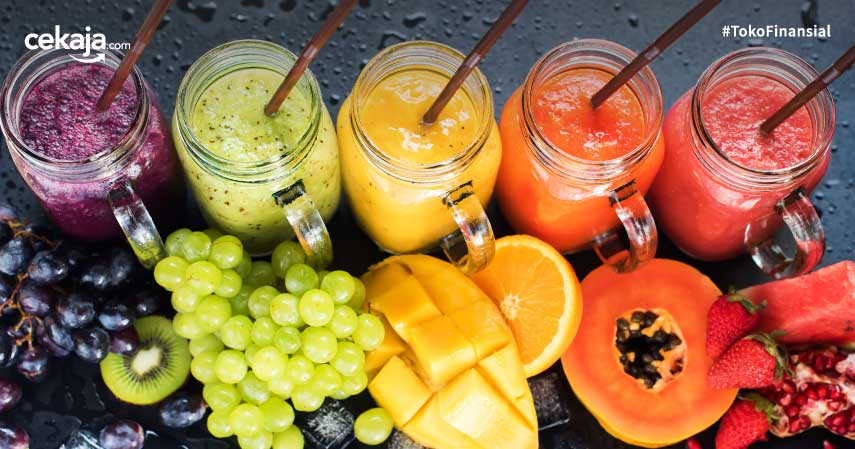 8 Jus untuk Diet ini Lezat dan Kaya Akan Nutrisi. Tertarik Mencoba?