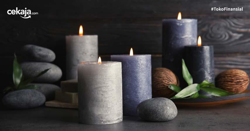 lilin aromaterapi: jenis, manfaat, dan cara membuat