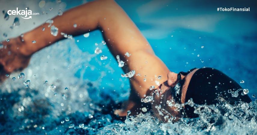 Berenang saat pandemi covid-19