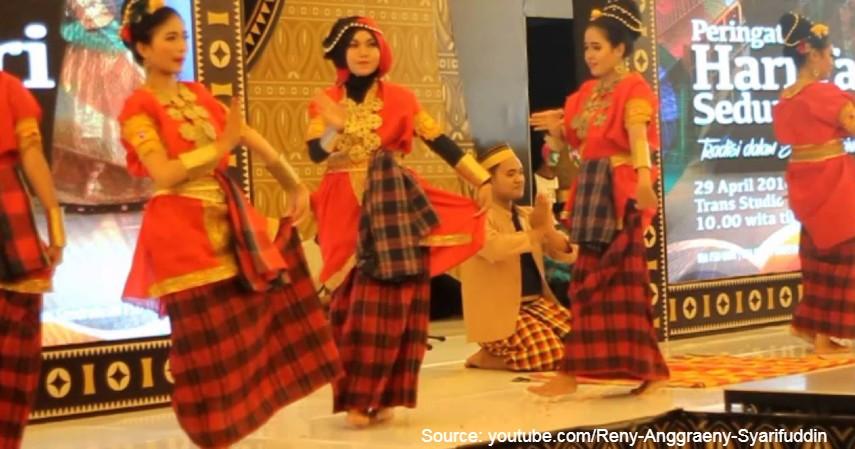 Tari Pattennung - 11 Kesenian Tradisional Sulawesi Selatan yang Membanggakan, Patut Dilestarikan!.jpg