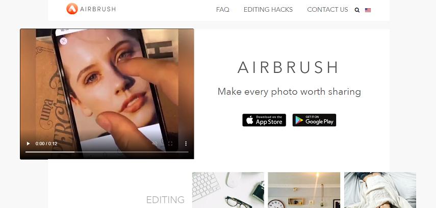 AirBursh - 10 Aplikasi Desain Grafis Online Gratis Terbaik Paling Populer