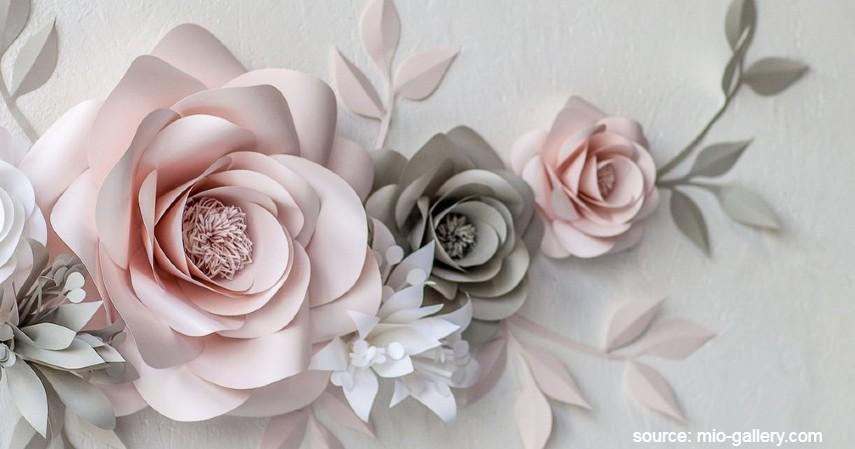 Aksesoris Paper Flower - 30 Peluang Usaha Rumahan Ini Gak Butuh Modal Besar
