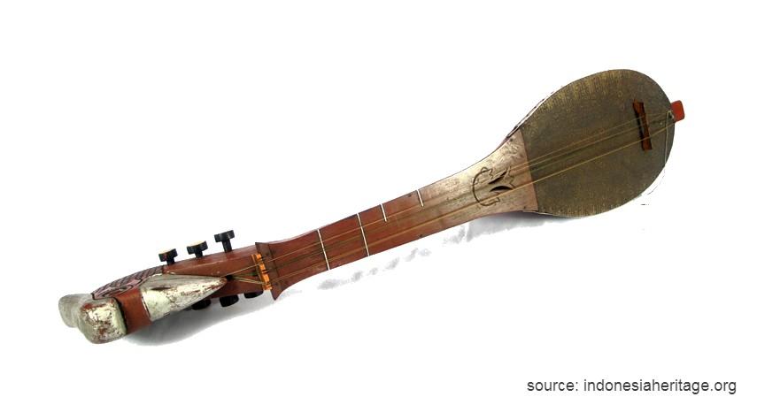 Alat Musik Panting - 20 Kesenian Tradisional Kalimantan Selatan