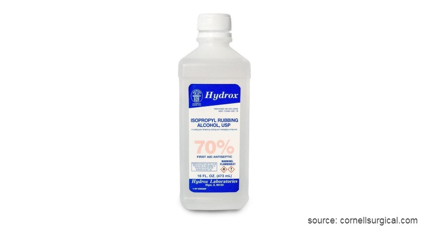 Alkohol Berkadar 70% - 10 Cara Menghilangkan Kutu Rambut dari Mayones hingga Alkohol
