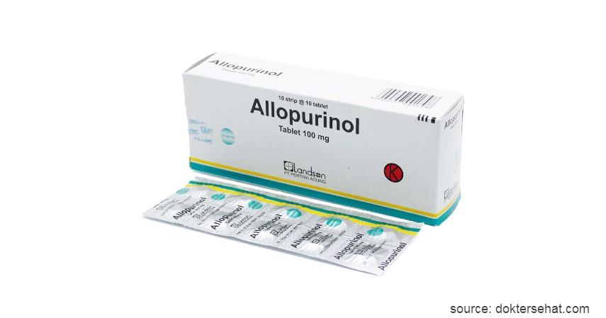 Allopurinol - 5 Obat Kencing Batu beserta Fungsinya yang Beragam