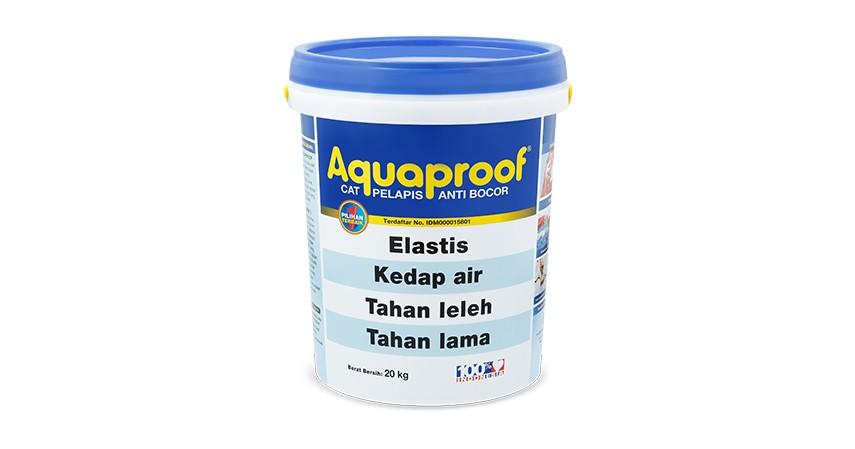 Aquaproof - 10 Cat Rumah Terbaik dengan Berbagai Formula Canggih