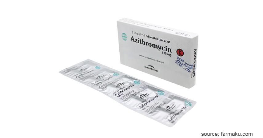 Azithromycin - 10 Obat Keputihan dari Bahan Alami hingga Dokter Berdasarkan Penyebabnya