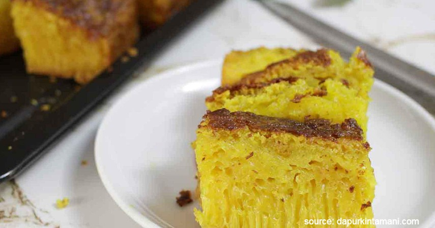 Bika Ambon - 10 Jenis Kue Basah Tradisional Indonesia dengan Rasa Lezat nan Menggiurkan