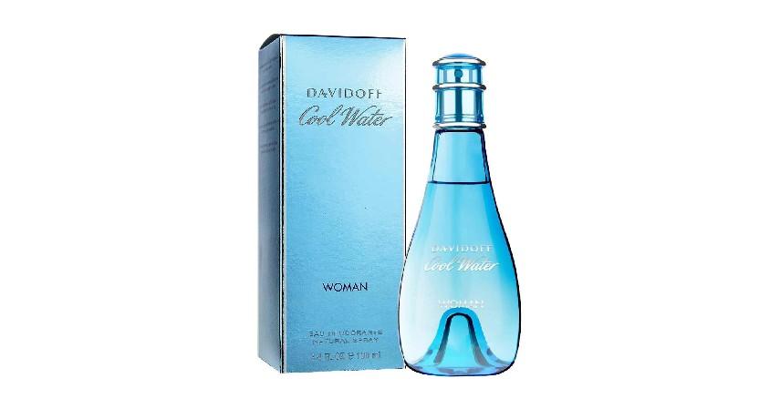 Davidoff Cool Water Woman EDT - 10 Merk Parfum Wanita Terbaik dan Terlaris Bikin Pria Terpesona