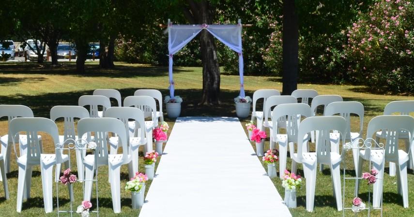 Dekorasi Pernikahan Minimalis - 7 Dekorasi Pernikahan Sederhana dan Murah di Kala Pandemi