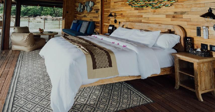 Dipan Tempat Tidur - 15 Kerajinan dari Kayu Paling Kreatif Unik dan Estetik