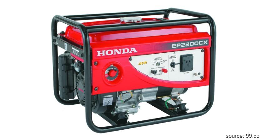 Genset Honda - 5 Genset Terbaik Produksi Lokal dan Luar Negeri Paling Direkomendasikan