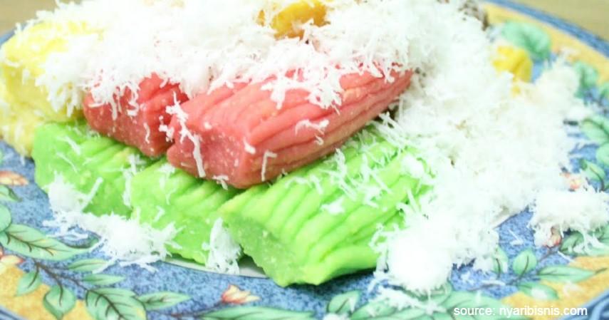 Getuk - 10 Jenis Kue Basah Tradisional Indonesia dengan Rasa Lezat nan Menggiurkan