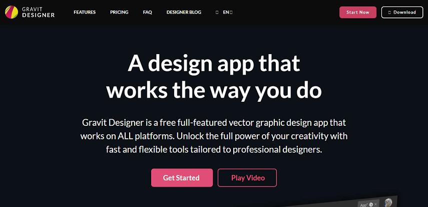 Gravit Designer - 10 Aplikasi Desain Grafis Online Gratis Terbaik Paling Populer