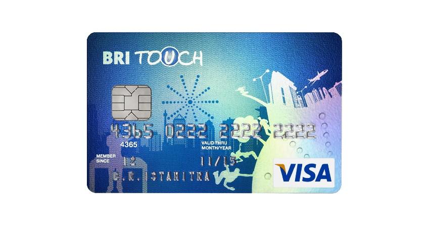 Kartu Kredit BRI Touch Visa Silver - 7 Kartu Kredit Termurah dan Termudah Ini Wajib Kamu Punya