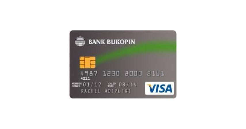 Kartu Kredit Bukopin Visa Classic - Kartu Kredit Termurah dan Termudah Ini Wajib Kamu Punya