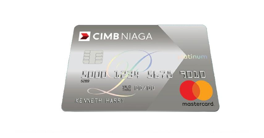 Kartu Kredit CIMB Niaga Mastercard Platinum - 6 Kartu Kredit Terbaik 2020 Ini Beri Segudang Keuntungan