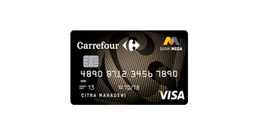 Kartu Kredit Carrefour Mega Card - 6 Kartu Kredit Terbaik 2020 Ini Beri Segudang Keuntungan