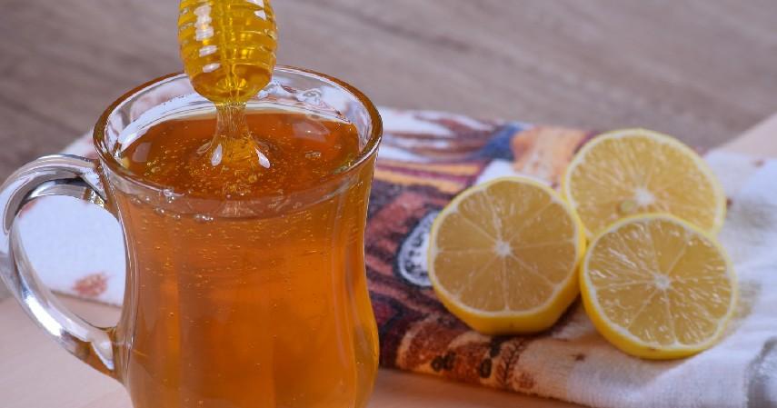 Lemon dan Madu - 11 Cara Memutihkan Wajah Secara Alami Aman dan Murah