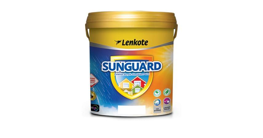 Lenkote Sunguard Acrylic Emulsion - 10 Cat Rumah Terbaik dengan Berbagai Formula Canggih