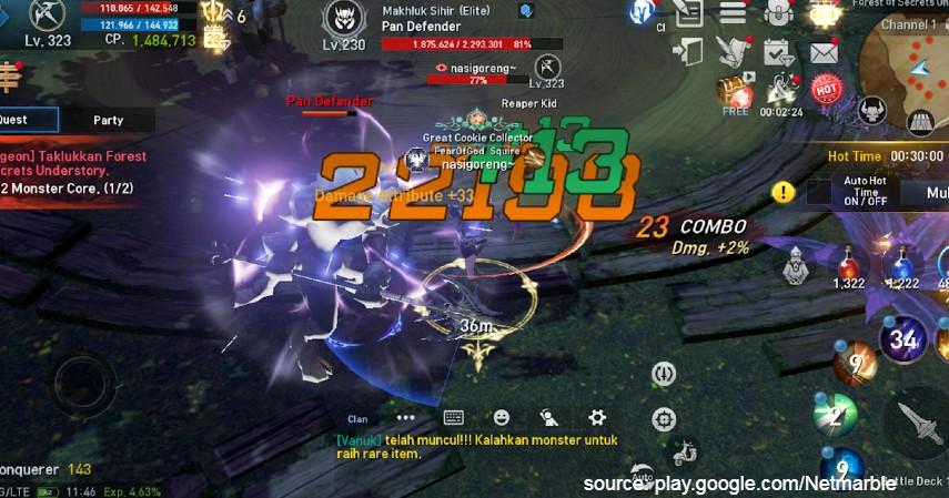 Lineage 2 Revolution - 10 Game Penghasil Uang Ini Bisa Raih Cuan hingga Milyaran Rupiah