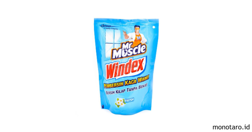 Mr. Muscle windex
