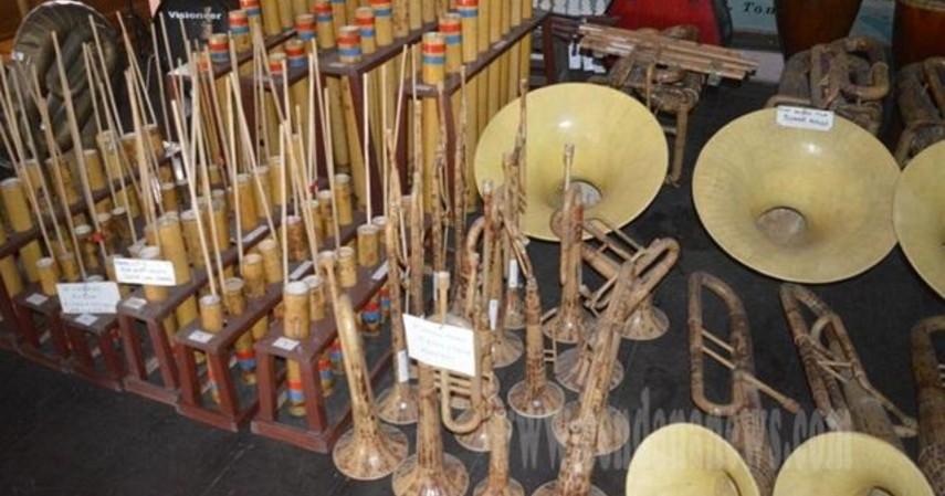 Musik Bambu - Kesenian Tradisional Sulawesi Utara