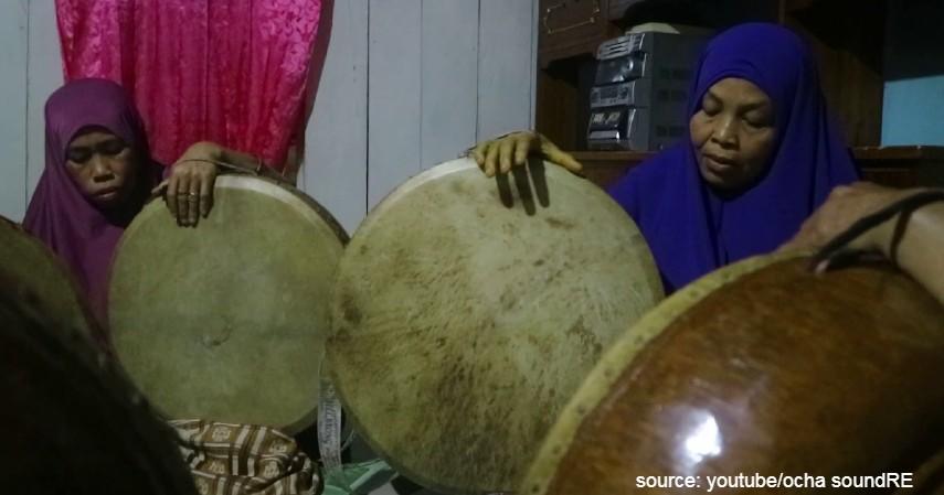 Parrawana atau Rebana - 11 Kesenian Tradisional Sulawesi Barat