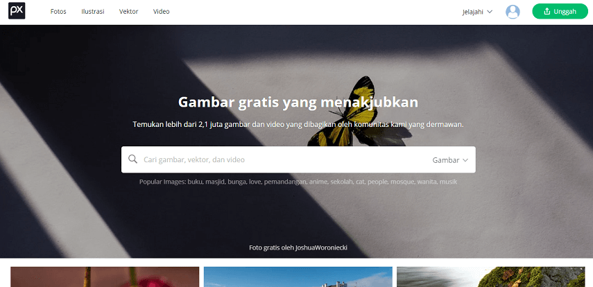 Pixabay - 9 Situs Download Gambar Gratis Bebas Copyright