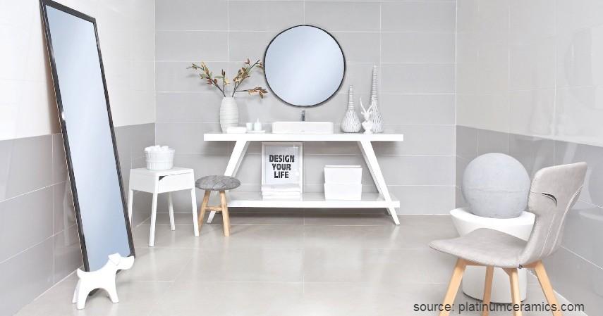 Platinum - 7 Merk Keramik Terbaik Untuk Lantai Rumah
