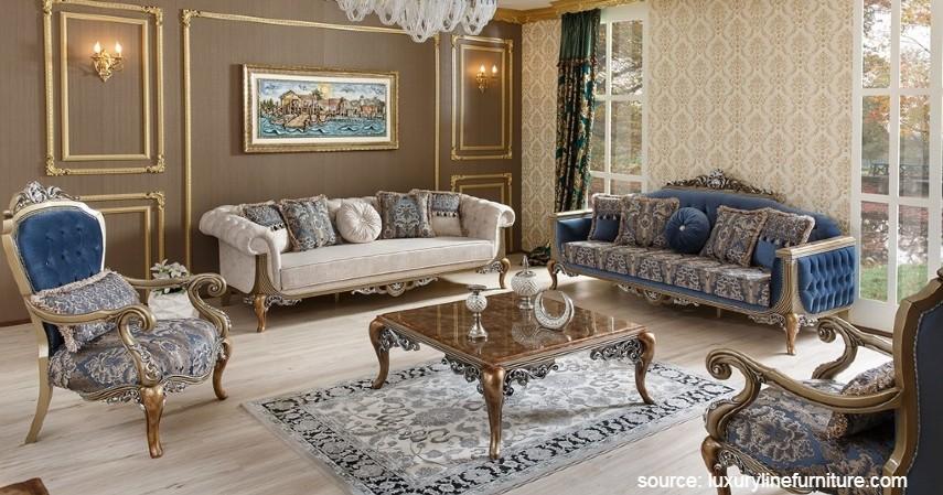 Ruang Tamu Bernuansa Klasik - Desain Ruang Tamu Minimalis yang Bikin Rumah Nampak Ciamik